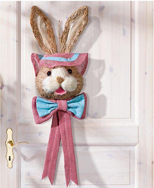e1b8563591 Veľkonočné dekorácie na dvere  Zajac - dĺžka 59 cm » PREMAMY.SK