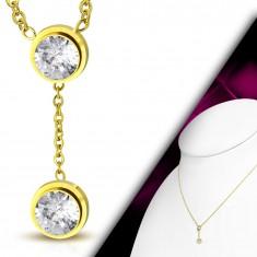 Zlaté a iné náhrdelníky - s menom, srdcom, iné